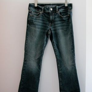 American Eagle Kick Boot jeans, Size 8R